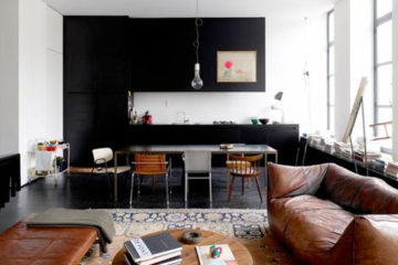 Bloesem living Black and white interiors home inspiration