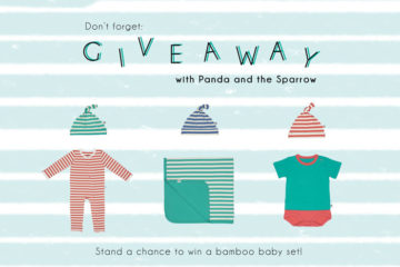 Bloesem Kids Giveaway: Panda and Sparrow