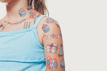 Tattly temporary tattoos bloesem kids