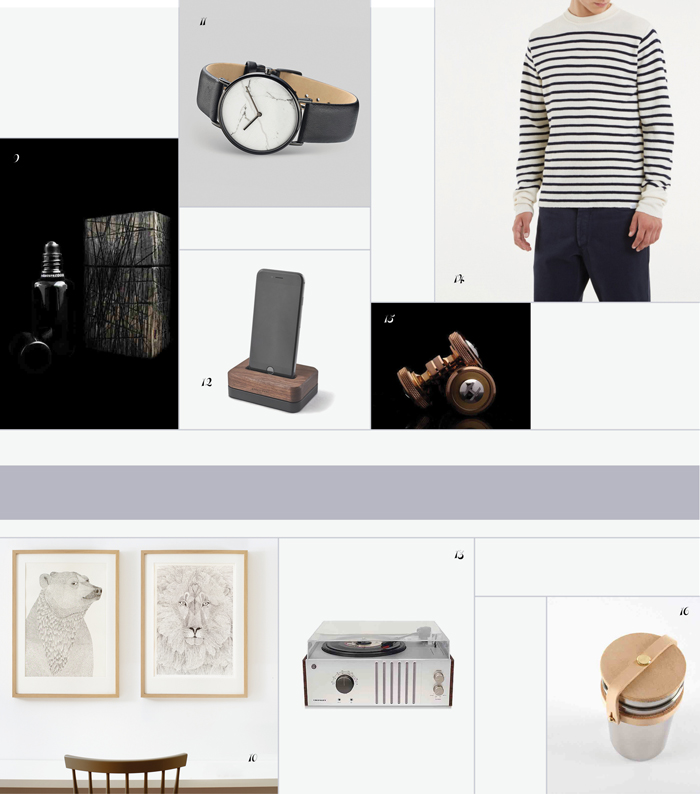 Bloesem living | Gifts guide 2015 Presents for Him