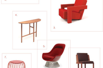Bloesem Living DREAM interiros all RED furniture.