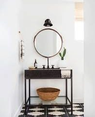 Bloesem Living | Powder room of a laid back Californian beach pad