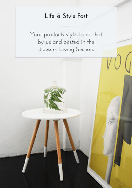 Bloesem Advertising Options: Life and Style Post