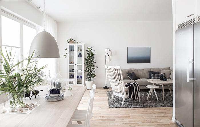 Bloesem Living   Crushing on this Swedish apartment