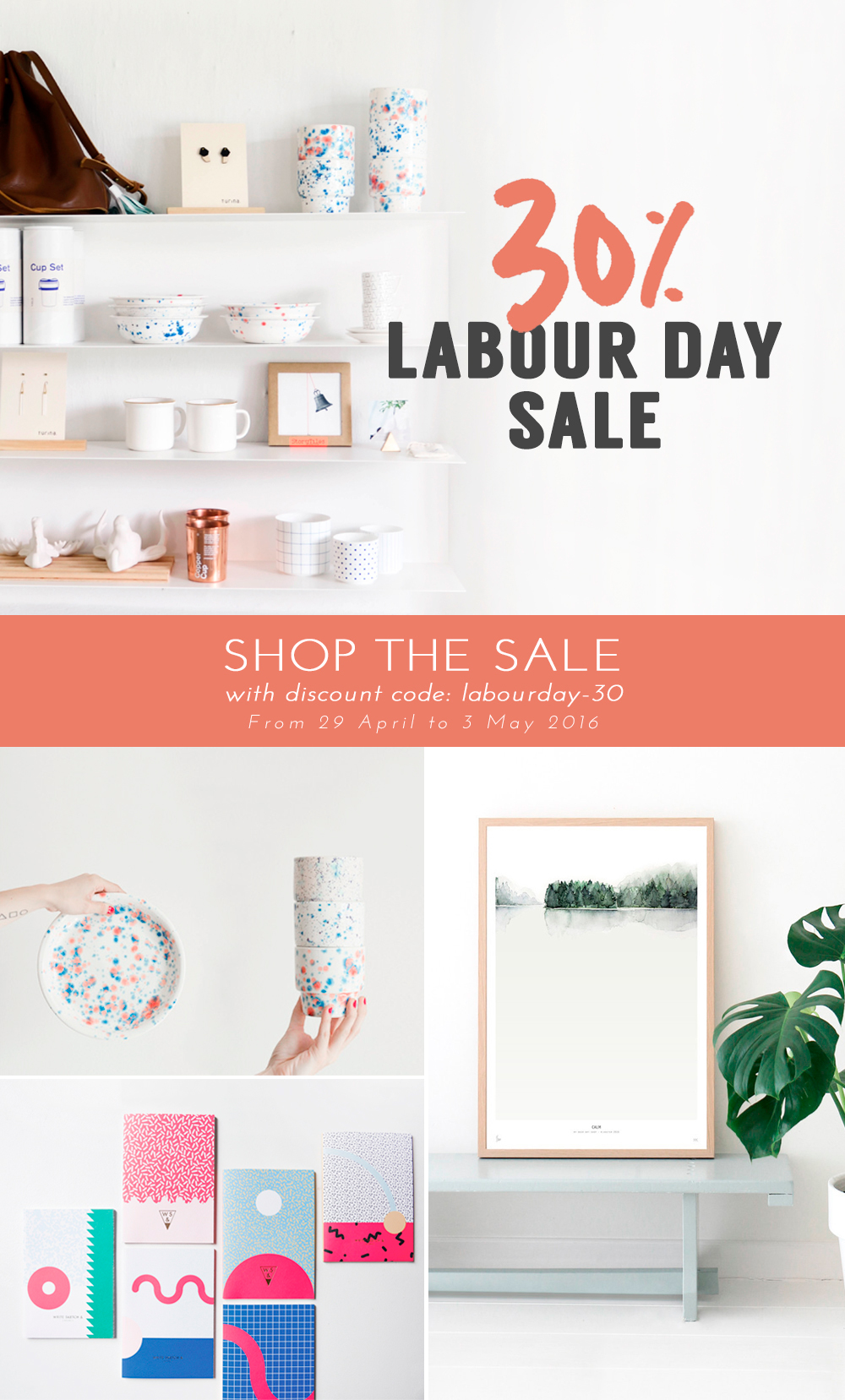 Link Love | Bloesem Shop Labour Day Sale - take 30% off!