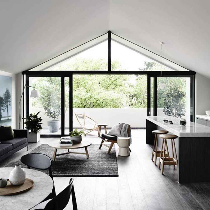 Link Love | Bloesem Living: Soft spot for black and white homes