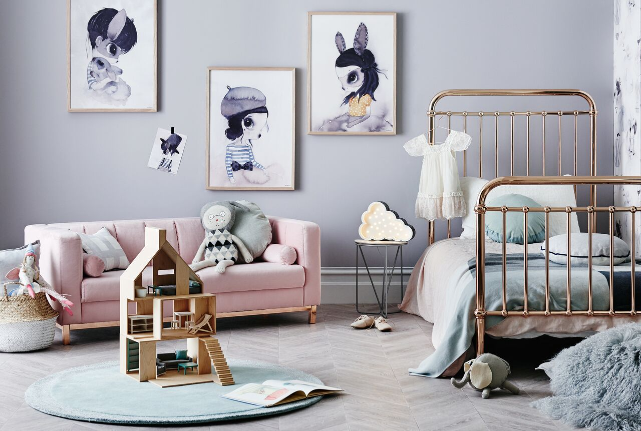 Link Love | Bloesem Kids: Rose Gold Bed for Vintage Vibes