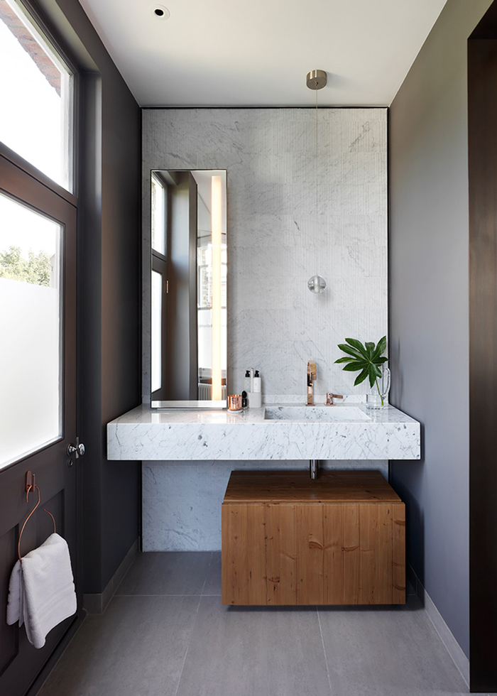 Inspiration for the minimal bathroom for Interior designs for flats