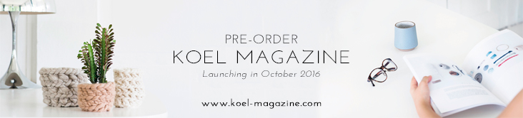 Pre-order KOEL Magazine | Launching Oct 2016