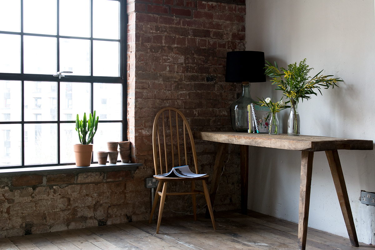 Bloesem Living |The Forge | This Working Space Has the Rustic Look On Point