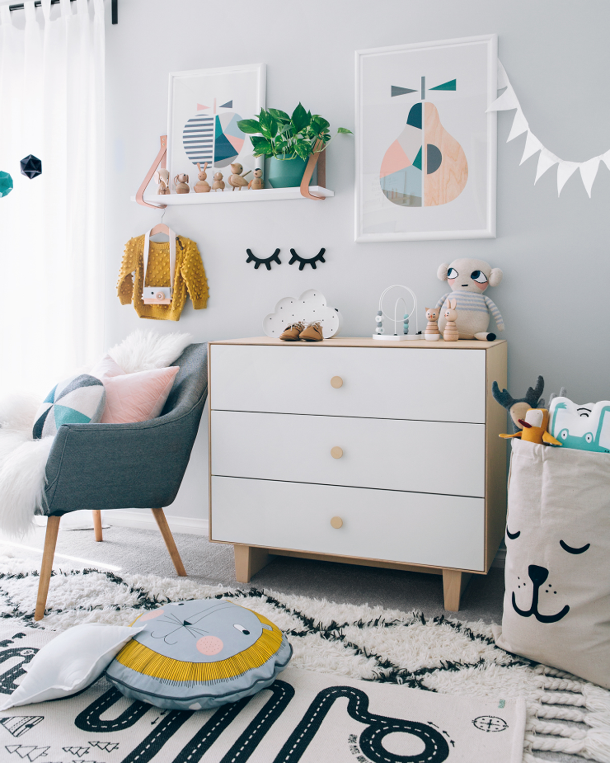 25 Cute And Comfy Scandinavian Nursery Ideas: » Where Simple Meets Scandinavian