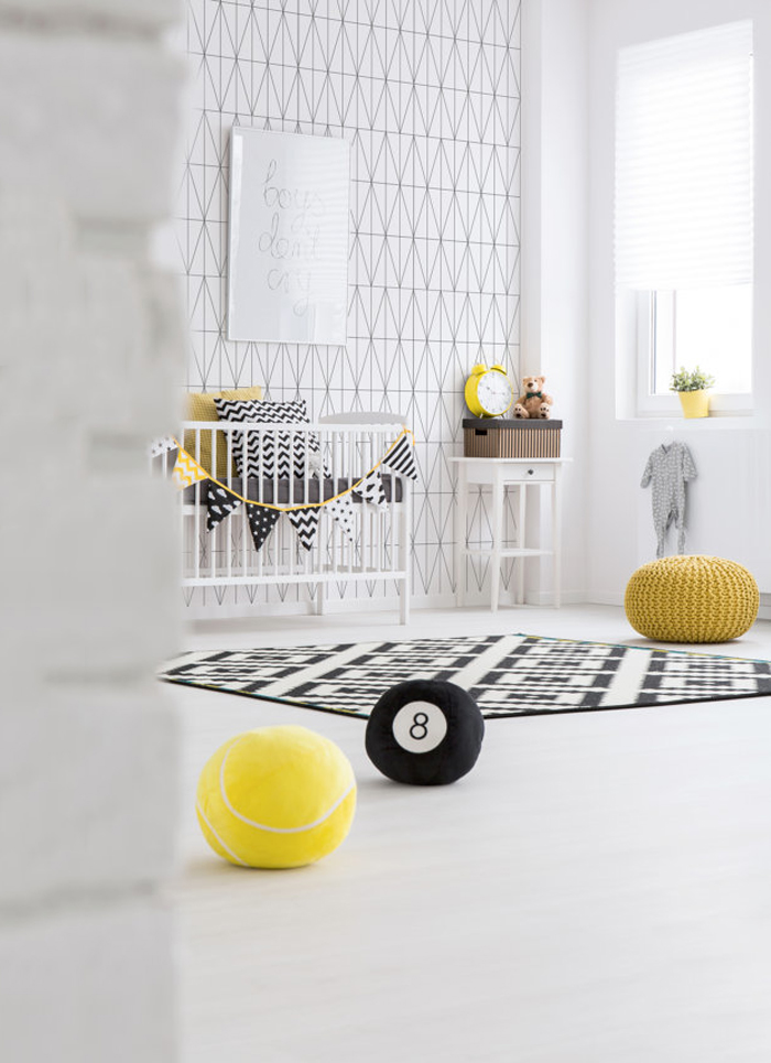 Bloesem Kids | Link Love: Geometric Lines + Yellow Accents