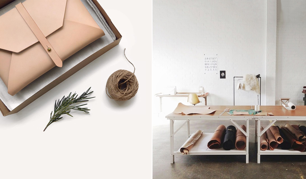 Bloesem Living | 4 Leather Makers We Spotted on Instagram