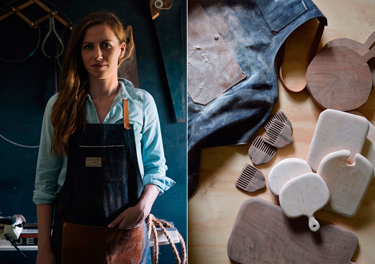 Bloesem Living | On the Rise | WoodMaking Extraordinaire: Celina Muire