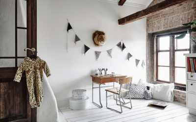 Bloesem Kids | Interiors: A Rustic Feel To Your Kids Workspaces