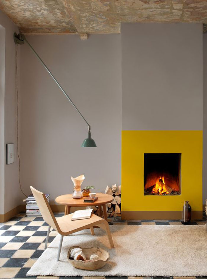 Bloesem Living l Interiors : Inspirations for a cozy fireplace
