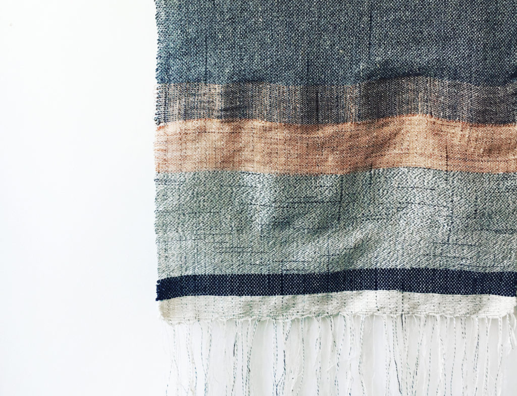 weaving artist Veronica Pock