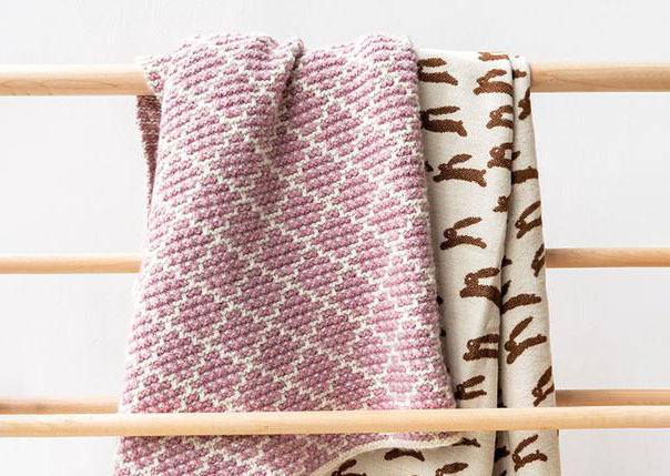 Mosaic Blanket by Purl Soho