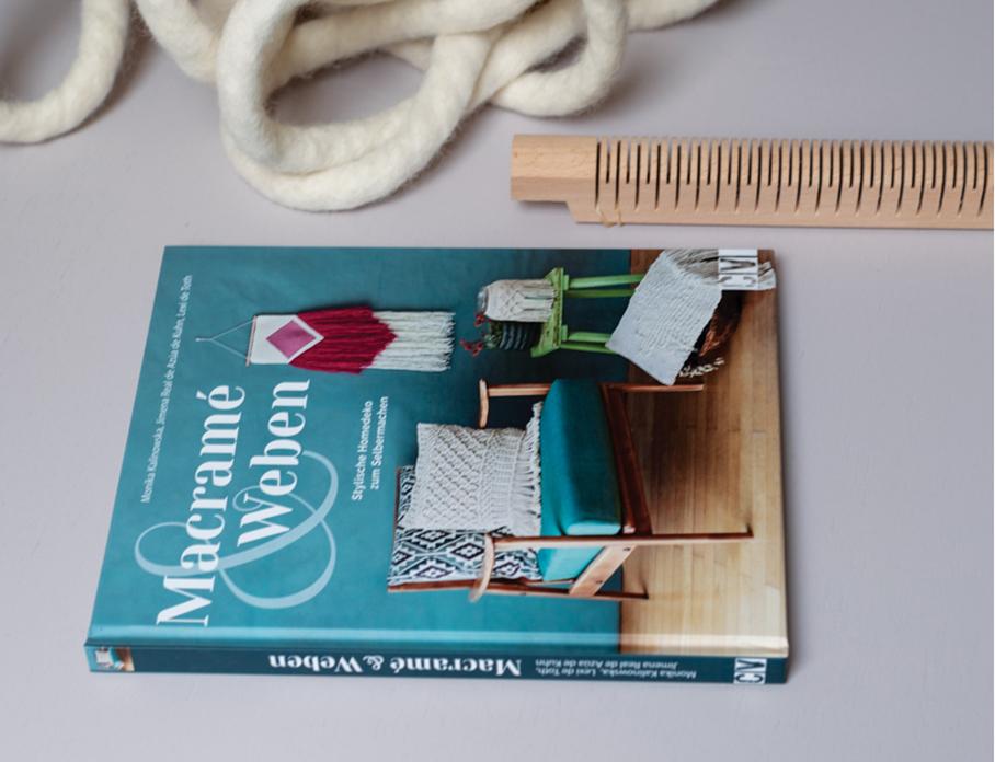 Macramé & Weben – Lexi de Toth, Monika Kalinowska, Jimena Real de Azúa de Kuhn KOEL Magazine - Macrame Books