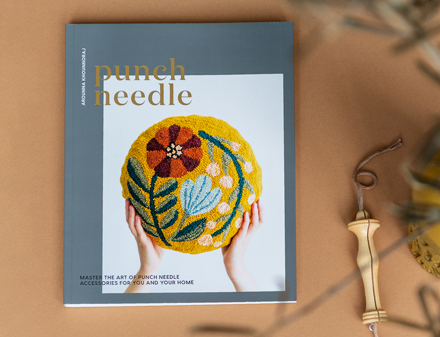 Punch Needle – Arounna Khounnorai Bookhou KOEL Magazine Punch Needle Books