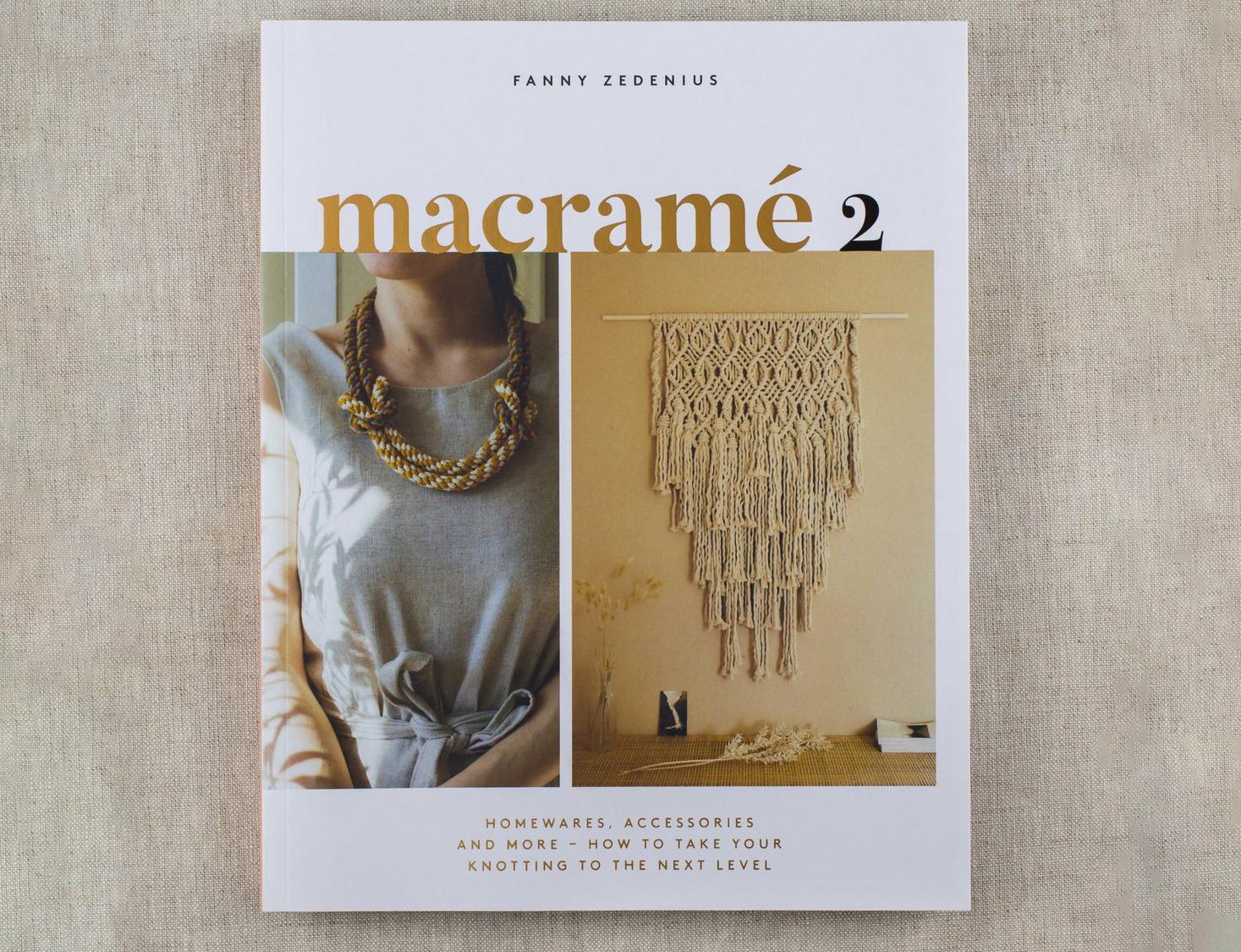 Macrame 2 Fanny Zedenius KOEL Magazine Macrame Books