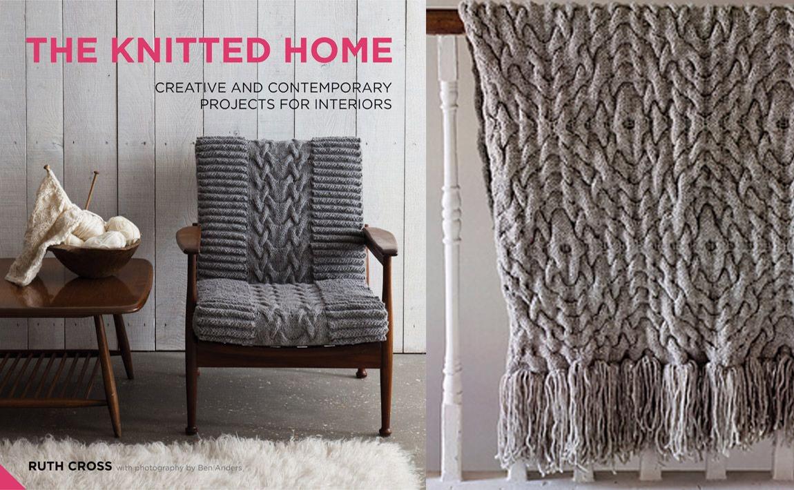 The Knitted Home – Ruth Cross KOEL Magazine Knitting Books