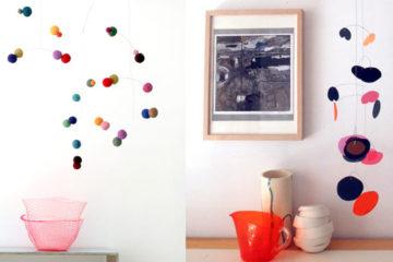 Bloesem design | puka puka hanging mobile
