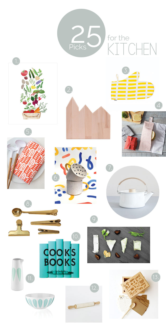 Bloesem Giving | Our 25 picks for gifts for the kitchen
