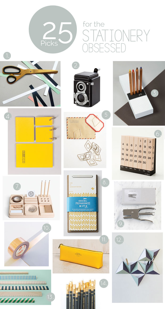 Bloesem giving | Gift guide for the stationery lovers