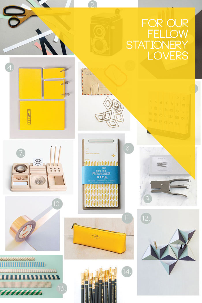 Bloesem Living | Gift Guide for Stationery lovers like us