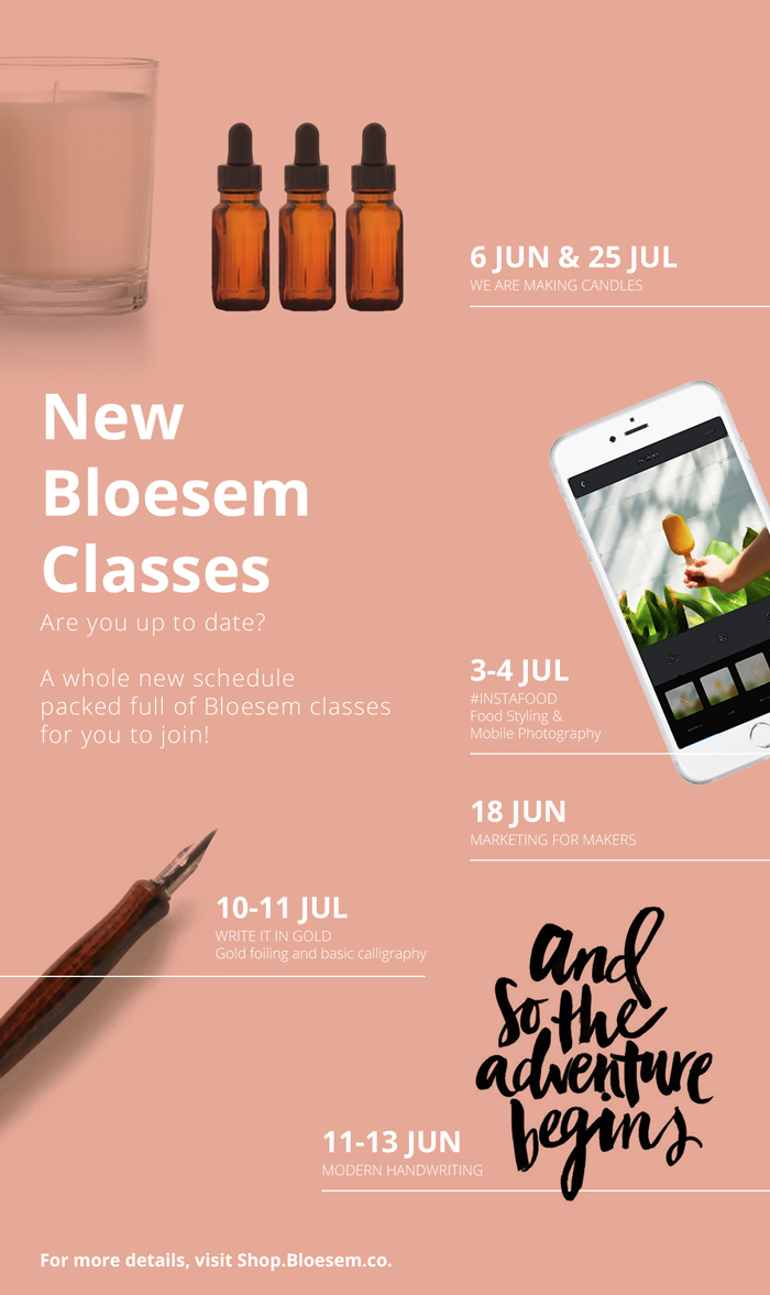 Bloesem class schedule | Classes from June to July - Bloesem.co