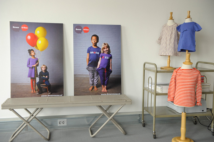 Posters-of-the-Broer-&-Zus-collection-2012-in-my-showroom