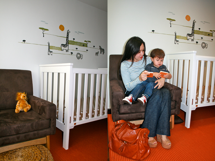 Rosie and son Toby-Rocking Chair-Favourite Item in House-01