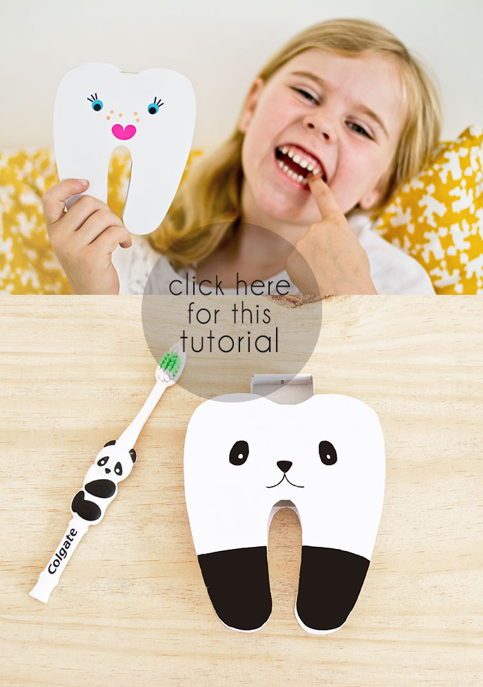 Bloesem Kids | Craft project Tooth box