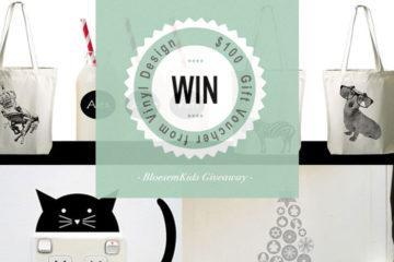 Bloesem Kids | Giveaway Vinyl Design