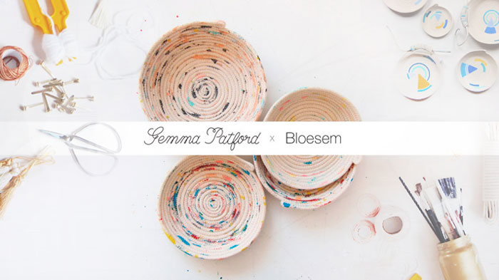 Bloesem Kids| Bloesem Class with Gemma Patford: Rope Vessel Making, Sign up for class at Bloesem.co