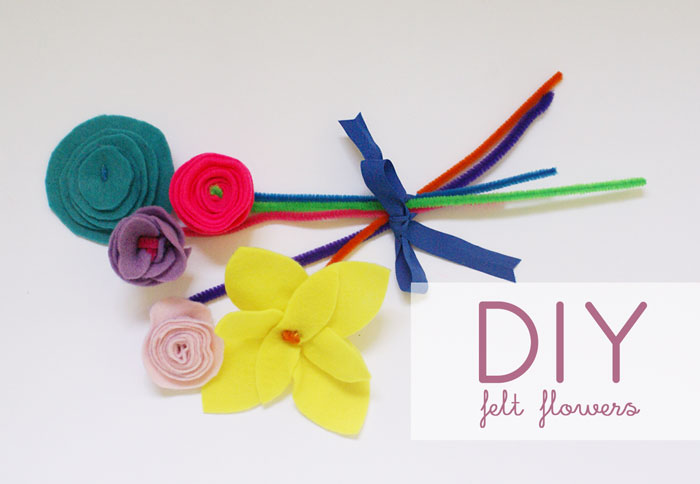 Bloesem Kids | Travel crafts series: DIY felt flowers by Anouk van der El