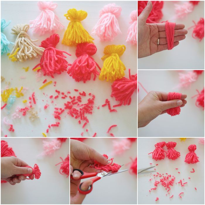 Project 190 DIY Tassel Bunting To Go